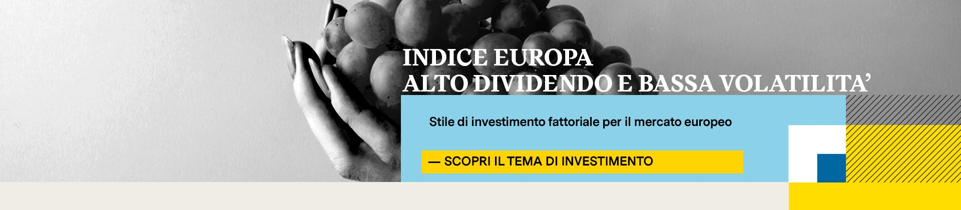 Tracker Certificate European High Dividend Low Volatility