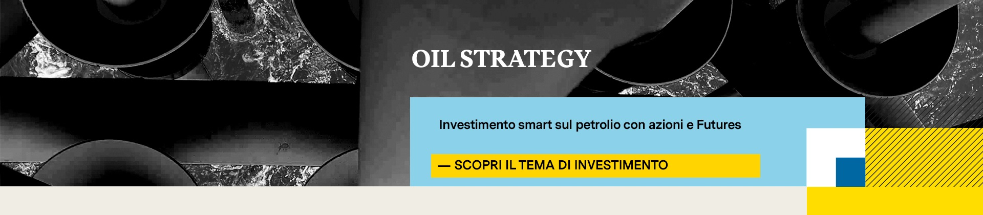 Tracher Certificate Oil Strategy